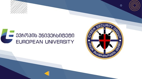 A memorandum of cooperation has been signed between the European University and the Cyber Security Group