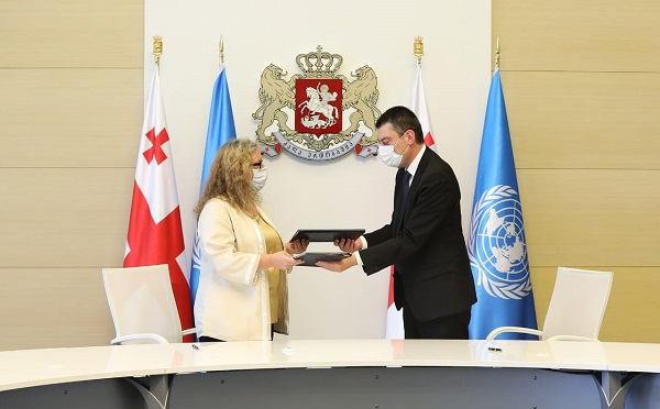 Georgia and United Nations sign a 2021-2025 cooperation pact